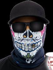 Salt Armour Sugar Mama Face Shield Sun Mask Balaclava Neck Gaiter Bandana USA
