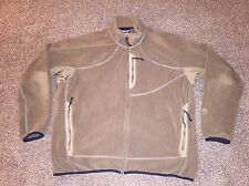 Mens PATAGONIA REGULATOR Brown Polartec Fleece SOFT Polyester Jacket XXL 2XL