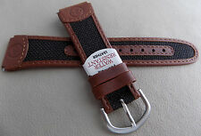 New Mens Timex Expedition Brown Water Resistant Leather 20mm Sport Watch Band
