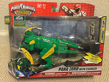 GREEN PARA ZORD figure POWER RANGERS DINO SUPER CHARGE w/ CHARGER 2015 Bandai