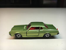 Old Vtg Matchbox Lesney Superfast (A) Diecast Toy #62 Mercury Cougar England Car
