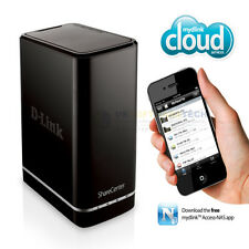 D-Link ShareCenter (0TB) 2-Bay NAS Bay Cloud Network Storage Enclosure (Black)