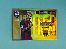 Panini Adrenalyn XL FIFA 365 2017 Messi Limited Edition Trading Card