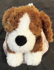 LOT #971 BUILD-A-BEAR WORKSHOP PUPPY with PINK EVENING DRESS 14-IN STUFFED PLUSH