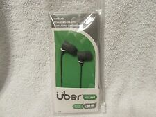 Jasco Uber Sound In-Ear Earphones Headphones Ear Buds-Gray-NIP-FREE SHIPPING