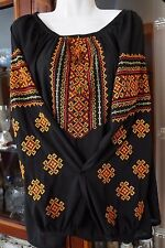 Ukrainian embroidery, embroidered blouse,chiffon, XS-4XL, Ukraine