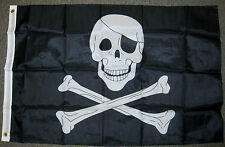 2X3 PIRATE FLAG JOLLY ROGER SKULL CROSSBONES NEW F319
