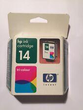 HP 14 TRI-COLOUR c5010ae-HP Cartuccia di inchiostro - 1160 SERIE D100-NUOVO e SIGILLATO