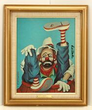 "Red Skelton ""Rodeo"" Painting Reproduction Signed with COA"