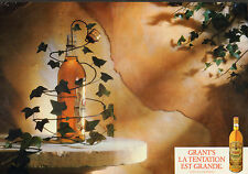 Publicité Advertising 1986  (Double page)  WHISKY GRANT'S