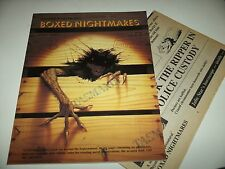 Boxed Nightmares - Beyond the Supernatural RPG - Palladium Books - Excellent