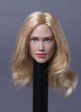 Custom Jessica Alba 1/6 Head Sculpt for Hot Toys Phicen Female Body