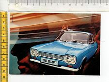 47000 Cartoncino pubblicitario Ford Escort Concessionaria International anni'70