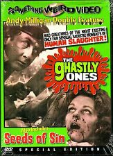 Ghastly Ones/Seeds Of Sin. Sicko Twin. New In Shrink!
