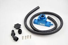 Blue CCV Crankcase Ventilation Kit For 2008 09 2010 Ford 6.4 Powerstroke Diesel