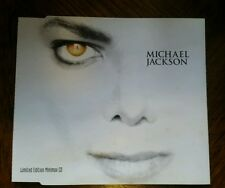 MICHAEL JACKSON RARE ON THE LINE LIMITED MINIMAX CD SINGLE GHOSTS IS IT SCARY
