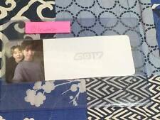 GOT7 Flight Log Departure Youngjae Yugyeom Photo Ticket KPOP Top Loader Official
