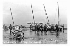 pt2212 - Return of Fishing Boats , Filey , Yorkshire - photograph 6x4