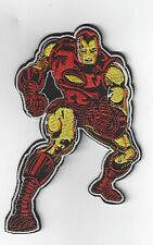 EXTRA LARGE 5inch x 3 inch IRONMAN  IRON ON PATCH BUY 2 GET 1 FREE = 3 of these.
