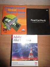 Bundle: Adobe After Effect 6.0 + Compression for Great Videos+Final Cut Pro 3