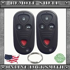 2 NEW REPLACEMENT KEYLESS ENTRY REMOTE SHELL CASE FOB FOR ACURA CL RL TL TSX