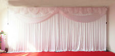 White Butterfly Wedding Backdrop Curtain