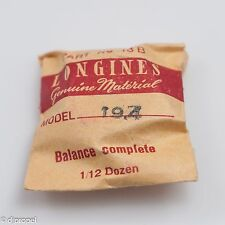 Longines Genuine Material Balance Complete Part 13B for Longines Cal 19.4