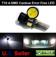 2Pcs T10 3W 4SMD LED High Power Canbus Backup Reverse Light Bulb License Plate