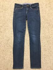 GAP 1969 FOREVER SKINNY Dark Wash JEANS size 27/4 Denim  (Inseam 29.5)  A7