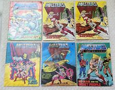 VINTAGE 1980'S MASTERS OF THE UNIVERSE HE-MAN MINI COMICS LOT OF 10