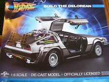 RARE EAGLEMOSS BACK TO THE FUTURE DELOREAN GMC ISSUE 4 1:8 SCALE BUILD YOUR OWN