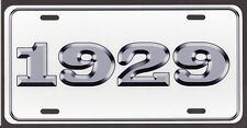 1929 LICENSE PLATE Ford Chevy Dodge Plymouth Buick Olds DeSoto Streetrod Rat rod