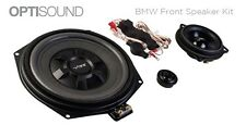 Vibe Optisound BMW 1 Series F20 F21 Front Door Speakers   Underseat Subwoofers