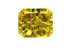 GIA Certified Fancy Deep Yellow Radiant Cut Natural Loose Diamond 1.15 cts VS2