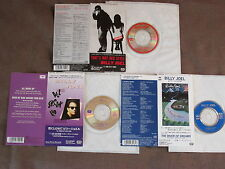 """BILLY JOEL Lot of 3 JAPAN 3"""" CD That's Not Her/All Shook Up/River NO SNAP PACK"""