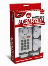 3pc Home Alarm Security System Door Window Wireless Key Pad Panic Button Sensors