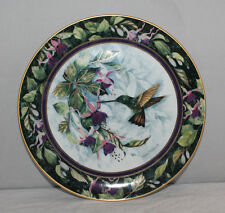 Royal Doulton/Franklin Mint - The Berylline Hummingbird-Ltd Ed Collectors Plate