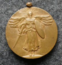 Vintage World War I Winged Victory Decoration Medal WWI 1 3/8""