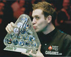 Mark SELBY SIGNED 10x8 Photo Autograph COA AFTAL Leicester SNOOKER Player