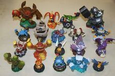PS3 SKYLANDERS LARGE LOT 44 FIGURES, 2 GAMES & WIRELESS GAME PAD FREE SHIPPING
