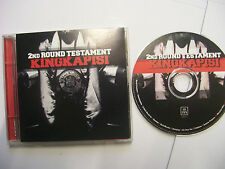 KINGKAPISI 2nd Round Testament – 2003 New Zealand CD – Hip Hop - BARGAIN!