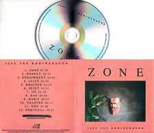 JEFF THE BROTHERHOOD Zone 2016 UK 12-trk promo test CD