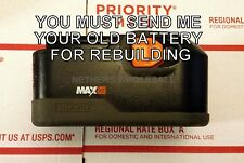 Re-build service for RIDGID 18 volt Max NiCad  G0518