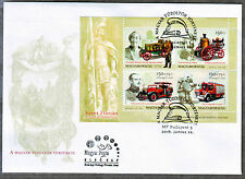 HUNGARY - 2016. St. Florian - Fire Engines - FDC