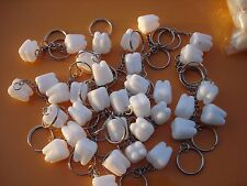 "TOOTH SAVER  KEYCHAIN .75"" LOT OF 144 CARNIVALS, PARTY TOYS, FAVORS, VENDING"