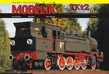 Modelik 03/14 - preussische Dampflok T 14.1 Tenderlokomotive TKt2     1:25