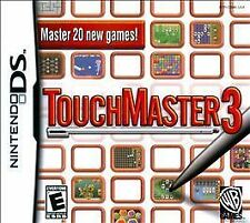 TouchMaster 3  (Nintendo DS, 2009) Variety Of Games All Ages Car Travel Fun EUC