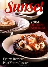 Cook Book - Sunset 2004 Recipe Annual - Every Recipe from the Past Year's Issues