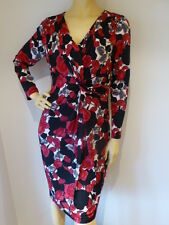 + Size 16  ANTHEA CRAWFORD  Sophisticated Twist Front DESIGNER Dress   Womens