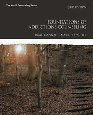 NEW Foundations of Addictions Counseling Mark D. Stauffer & David Capuzzi 3E